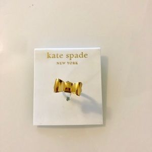 💜Kate Spade Bow Ring Size 7 💜